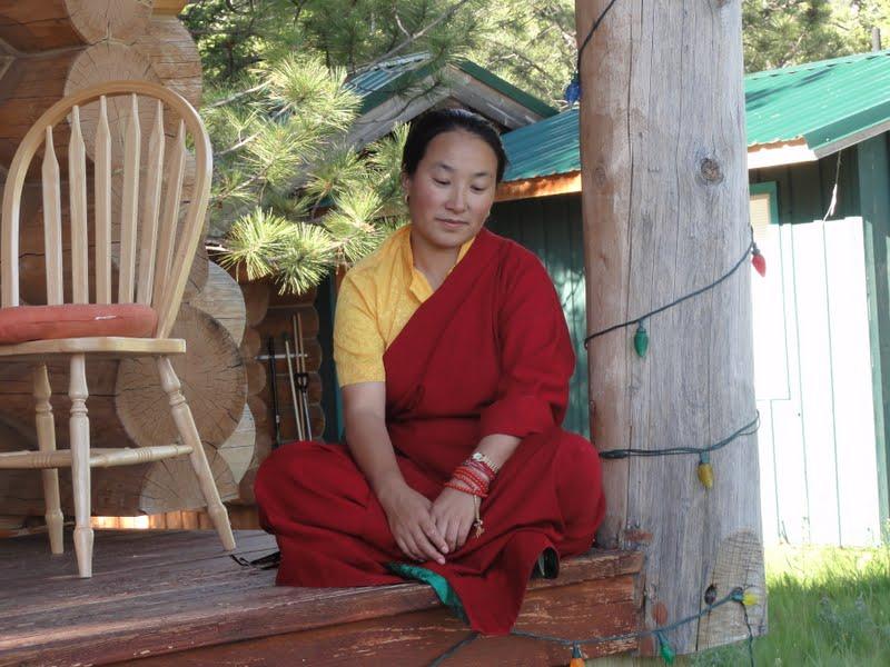 Khadro la at Buddha Amitabha Pure Land, WA