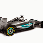 Mercedes W06 rightback view