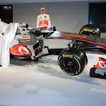 Reveal McLaren MP4-27 Mercedes Button & Hamilton