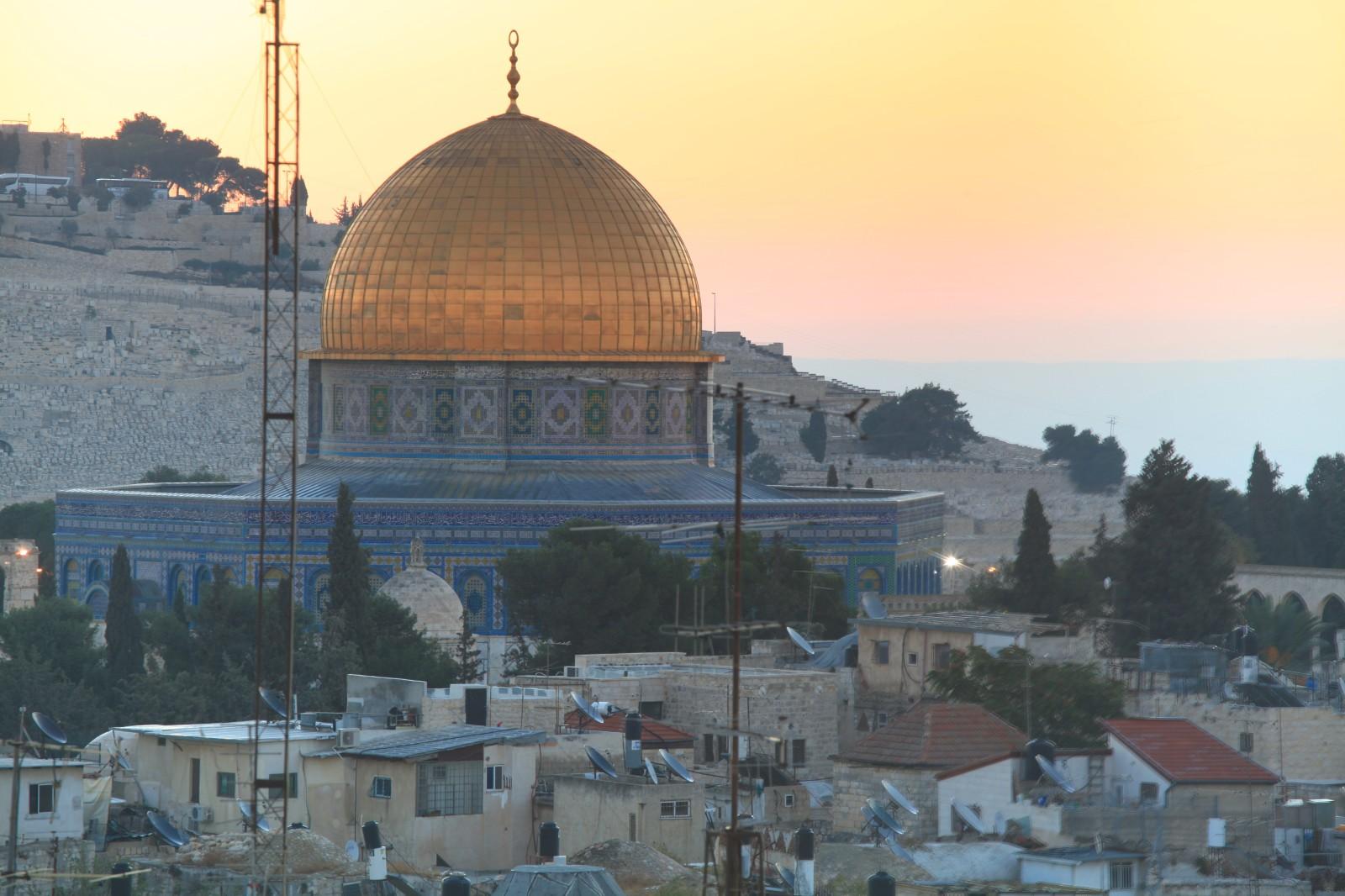 Sunrise over Temple Mount