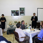 A Kassai lelkészházáspár közösen köszönti a résztvevőket