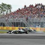 Lewis Hamilton & Nico Rosberg, Mercedes W06
