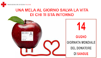 mela della giornata mondiale del donatore 2016