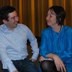 Cinéma Le Royal en compagnie de Pablo GARCIA, député genevois et Adeline STERN, exploitante du cinéma.