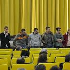 Cyril BRON et David FUEHRER (les deux réalisateurs) avec les protagonistes: Alain, Thomas, Emmanuel, Yaël (jeune comédien qui interprète Emmanuel adolescent), Christine et Isabelle