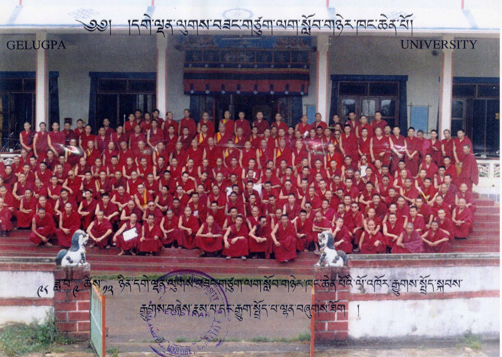 Monks of Sera Je Monastery