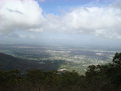 Rockhampton from Mt McArthur