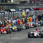 Start grid 2004 San Marino F1 GP