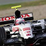 Honda RA106 first test by Rubens Barrichello