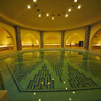 Hamam underneath hte mosque, never used as intended