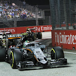 Sergio Perez, Force India VJM08 Mercedes
