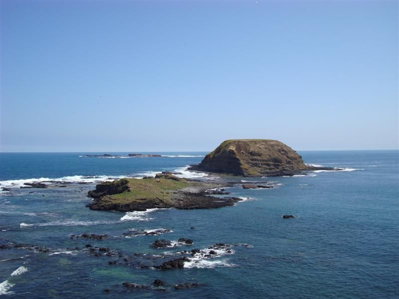 The Nobbies on Phillip Island. Seals live on the island, although I couldn't see them