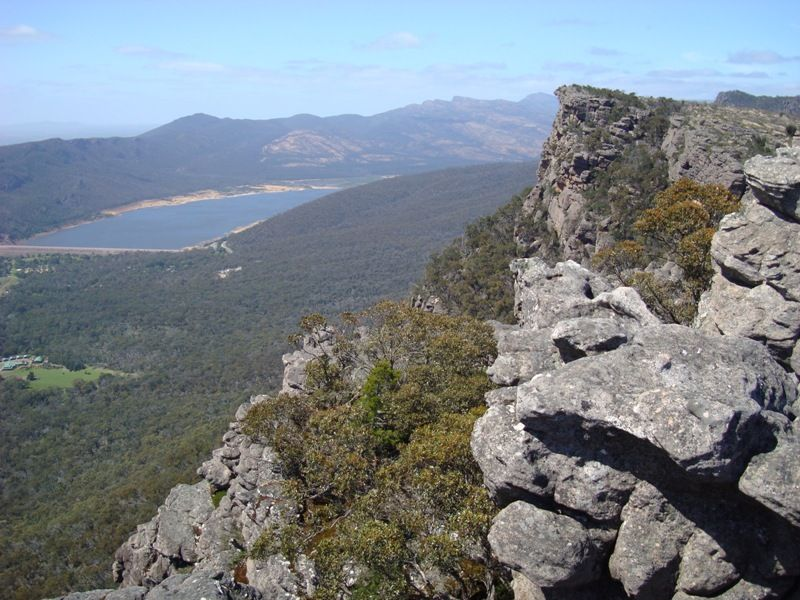Lake Bellfield in the distance