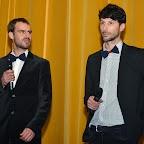 Les deux réalisateurs: David FUEHRER et Cyril BRON (à dr.)