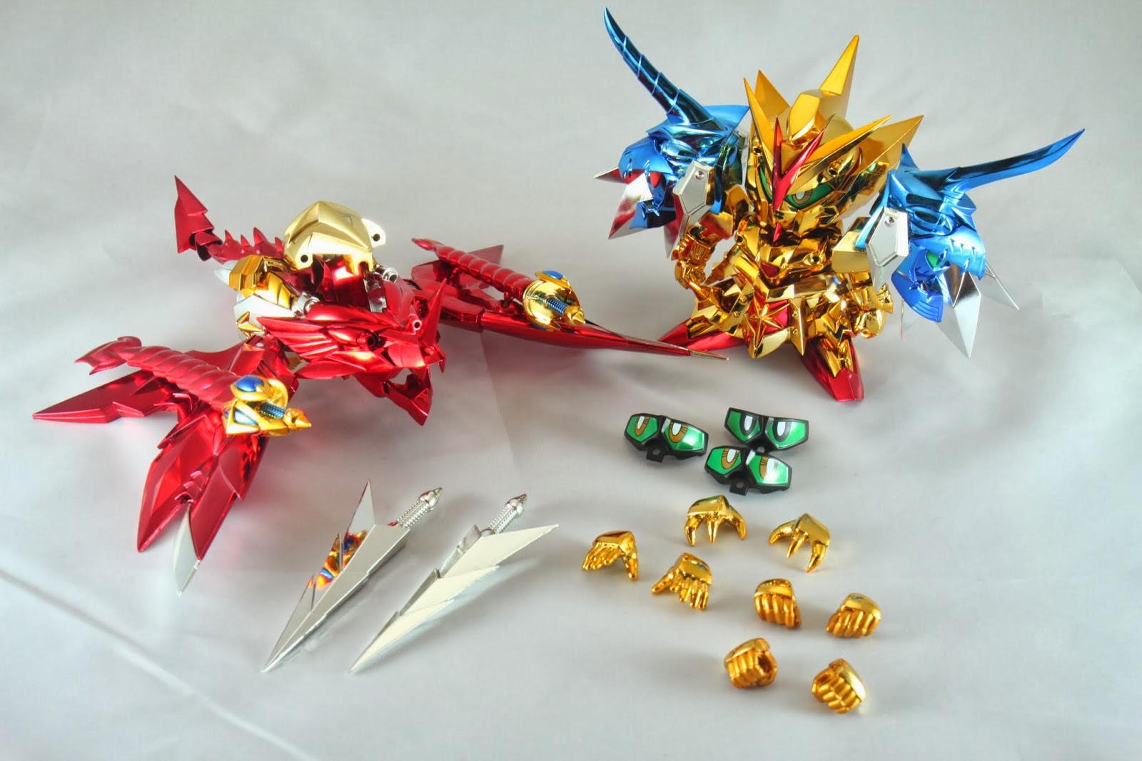內容物一覽 一個神、一條龍、四組眼、手多數、武器若干