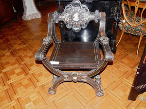 Пара Итальянских кресел XIX век.  Инкрустация, кость. 5000 евро