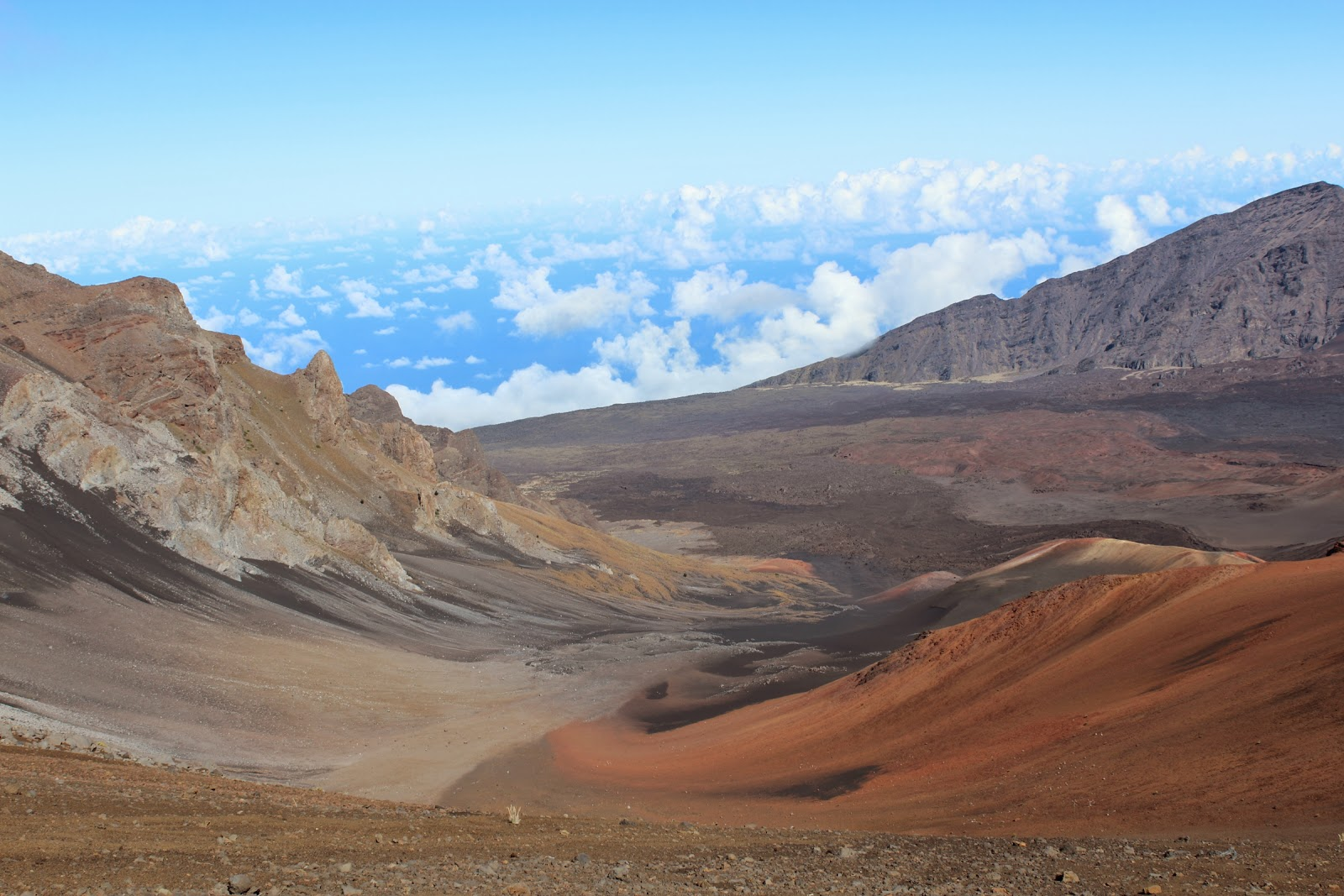 Dormant crater of Haleakalā