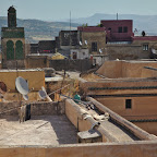 Satellite dishes of Fes Medina are the only thing that reminds us it is not 1700s anymore