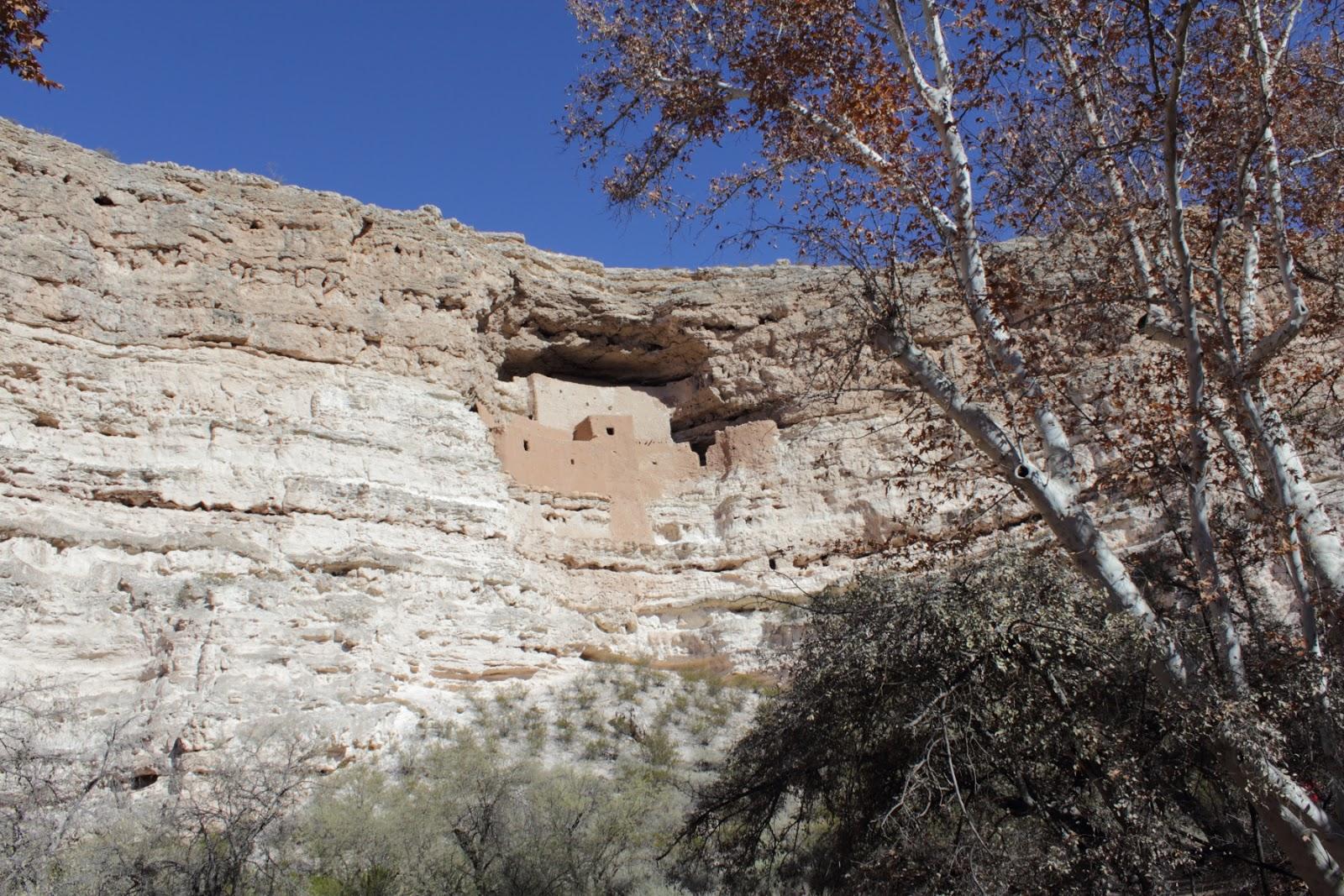 Montezuma Castle National Monument  http://www.nps.gov/moca/index.htm