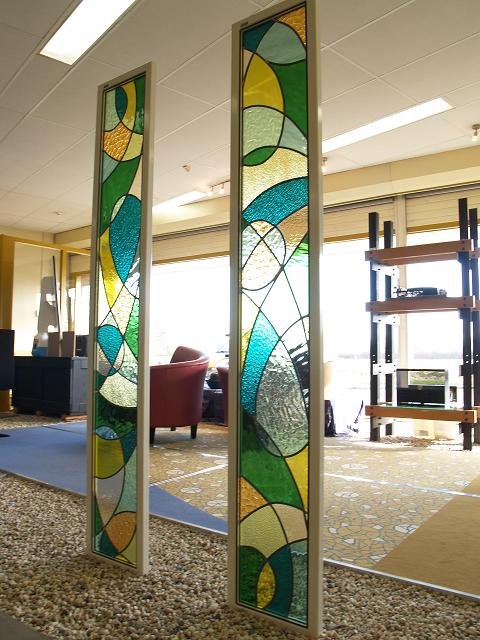 Decoratiepanelen HiFi studio Emmen