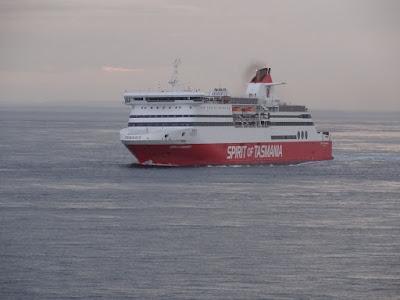 Passing the Spirit of Tasmania II