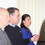 Molnár László (középen), a Human Iternational vezetője szintén felszólalt