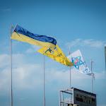 Zászlók a hazai stadionon