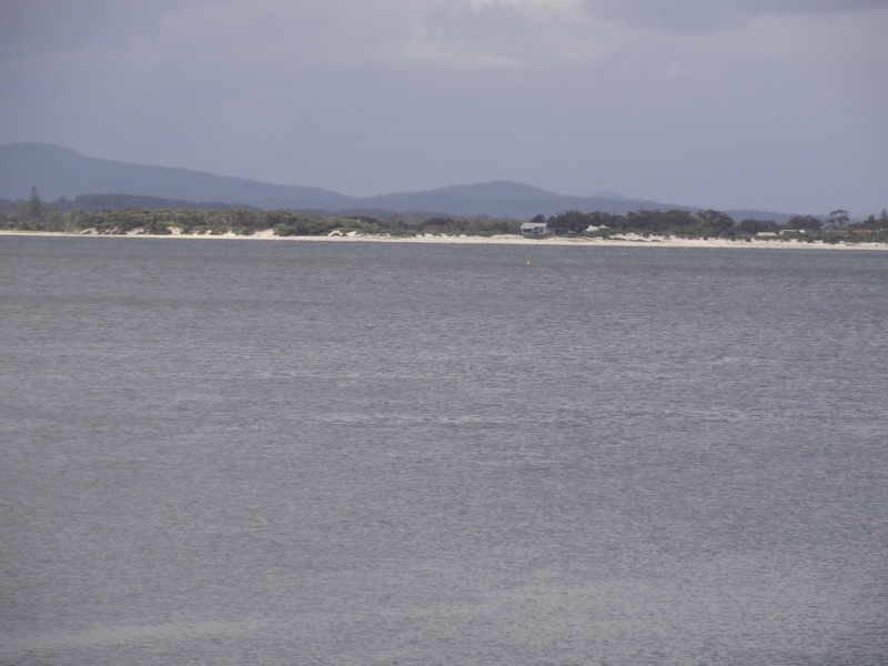 Looking towards Hawkes Nest