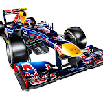 Red Bull RB8 Renault right front