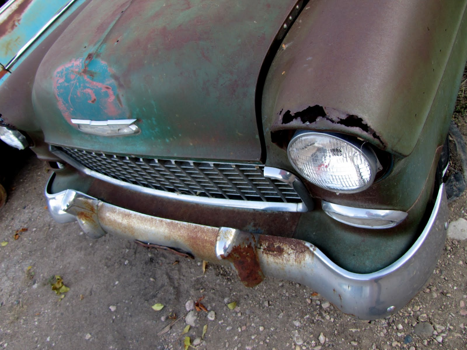 Rozsda-lyuk RustHole, 1957 Chevrolet Bel Air