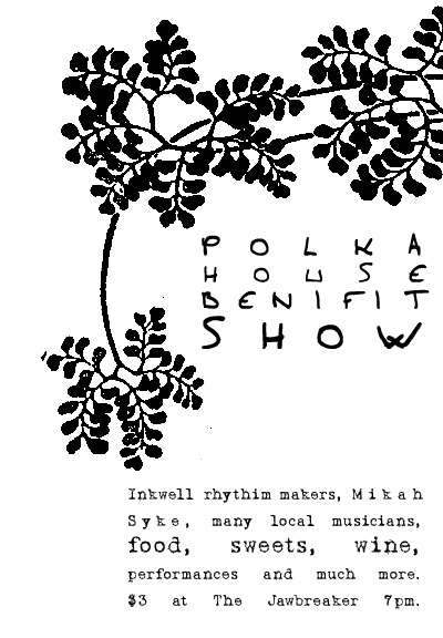 Poster for a music event