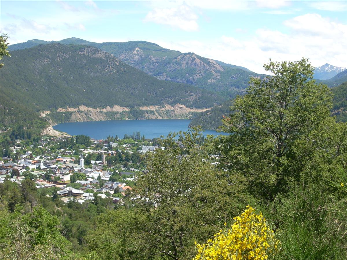 San Martin de Los Andes - all downhill!