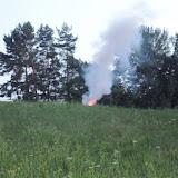 Co se to ale... Po chvilce se ozvala rána, objevily se plameny, oblaka kouře...!