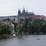 A nakonec s Pražským hradem v pozadí