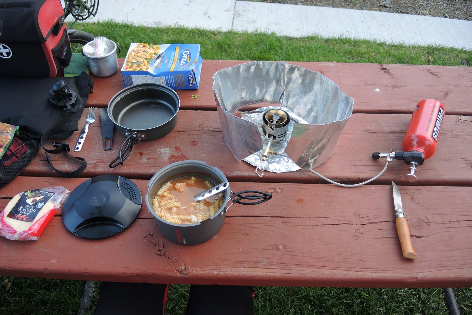Un bon diner au parc du Lac Ontario
