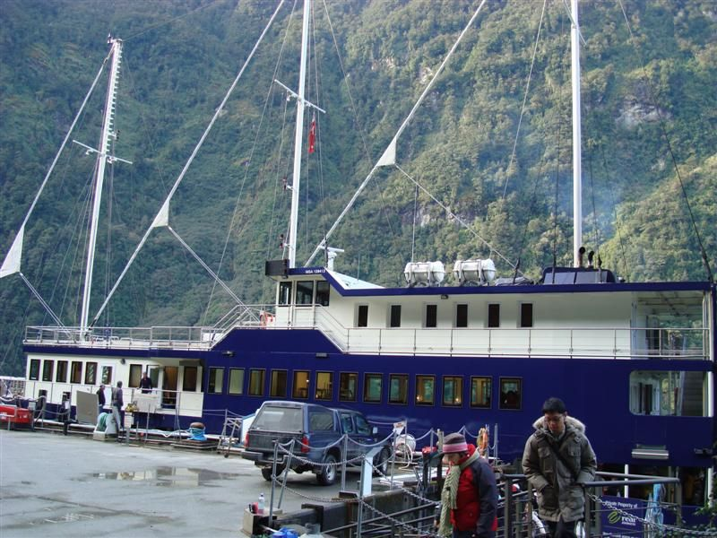 We were on the boat normally used for the overnight cruises....22 of us cruised ....