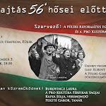 Főhajtás 1956 hősei előtt Füleken