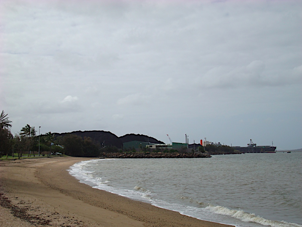 The beach at Gladstone
