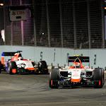 Alexander Rossi & Will Stevens, Manor MNR1 Ferrari