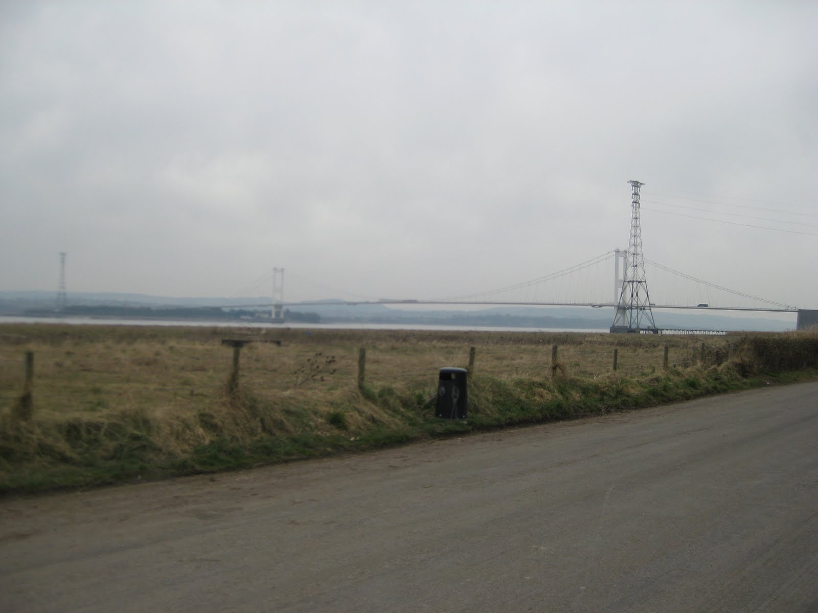 Severn crossing - nicely set up for bikes