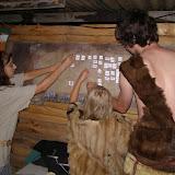 Sundaváme nalovená zvířata, abychom je mohli dát šamanovi jako oběť