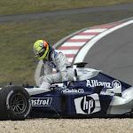 Crashed Ralf Schumacher, Williams BMW FW26