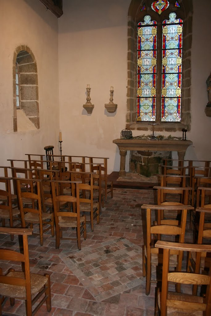 La chapelle aujourd'hui rénovée