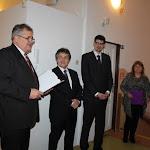 Pomichal István polgármester, Ľubomír Petrák parlamenti képviselő és Peter Krajňák államtitkár
