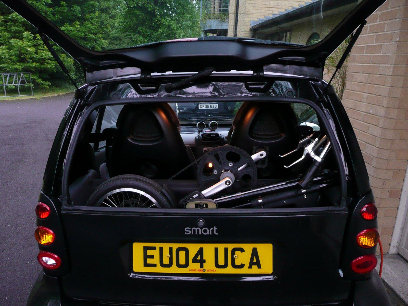 Smart - Bicycle Transporter (it can take 3 Strida bikes)