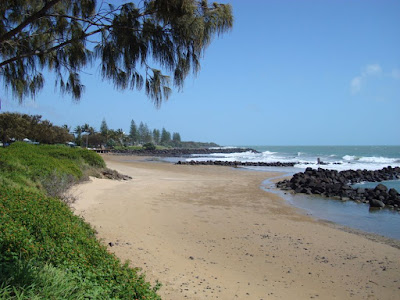 A beach near Bundaberg