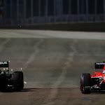 Giedo van der Garde, Caterham CT03 VS Jules Bianchi, Marussia MR02