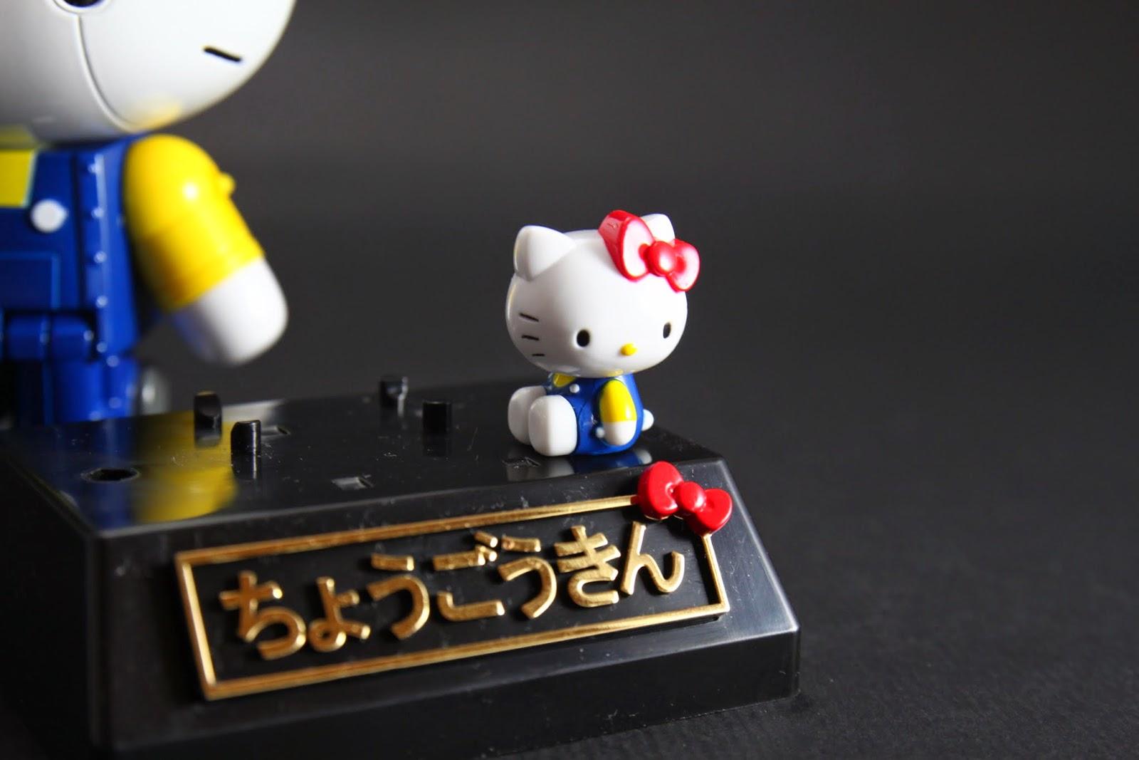 這個才是Hello Kitty本體 不能動