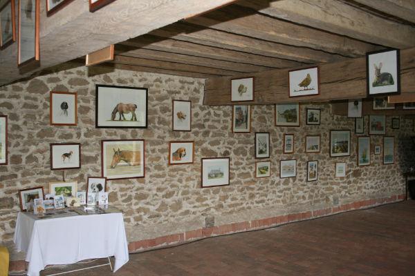 L'exposition est prête pour accueillir le public