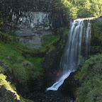 One of the many waterfalls in Skaftafell National Park